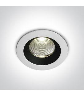 12W LED Iebūvējamā lampa White 4000K IP65 10110P/W/C