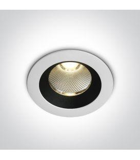 12W LED Iebūvējamā lampa White 3000K IP65 10110P/W/W