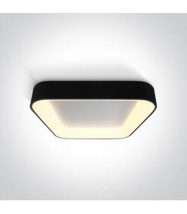 50W LED Griestu lampa PLAFO Square Black 62142NA/B/W