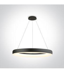 40W LED Piekarama lampa RING Black 63114/B/W