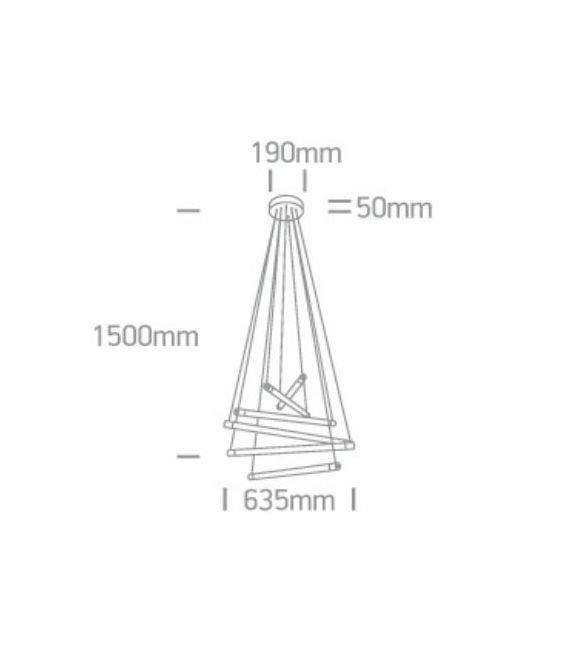 40W LED Pakabinamas šviestuvas DENIS 4250600