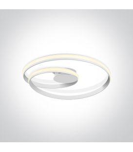 30W LED Griestu lampa SWIRL Ø58 White 63066/W