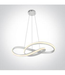 30W LED Piekarama lampa SWIRL White 63066A/W