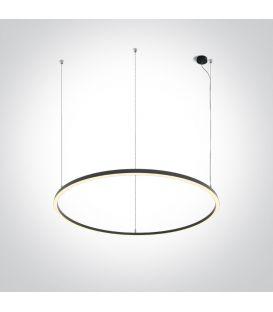 65W LED Piekarama lampa CIRCLE Black 62156C/B/W
