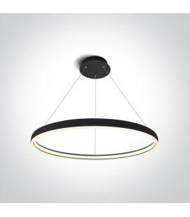 40W LED Piekarama lampa RING Black 63050/B