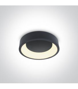 20W LED Griestu lampa PLAFO Ø30 Round Anthracite 62130N/AN/W