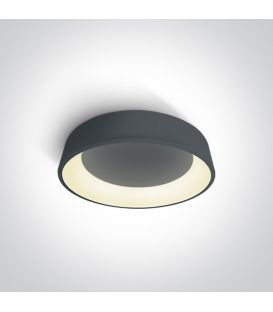 32W LED Griestu lampa PLAFO Ø45 Round Anthracite 62132N/AN/W
