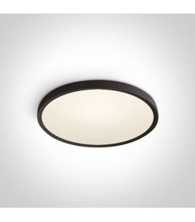 40W LED Griestu lampa SLIM Ø60 Black 3000K 62152/B/W