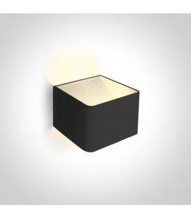 6W LED Sienas lampa RANGE Black 67466A/B/W
