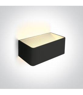 6W LED Sienas lampa RANGE Black 67466B/B/W