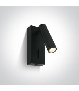 3W LED Sienas lampa READING Black 65746/B/W