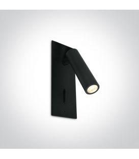 3W LED Sienas lampa READING Black 65746R/B/W