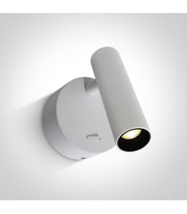 3W LED Sienas lampa READING White 65738/W/W
