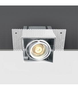 Iebūvējama lampa Square White 51010TR/W