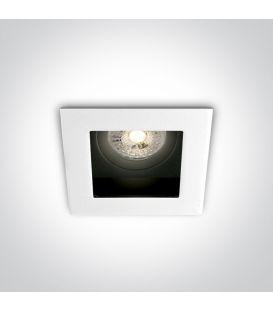 Iebūvējama lampa Square White 51105TA/W