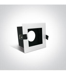 Įmontuojamas šviestuvas Square White 51105TR/W