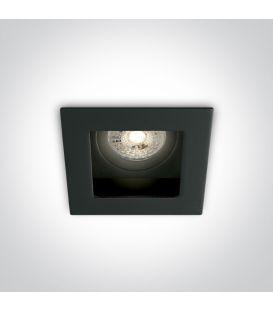 Iebūvējama lampa Square Black 51105TA/B