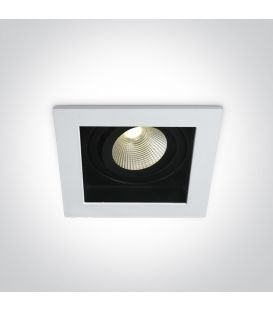 12W LED Iebūvējama lampa White IP44 51112E/W/W