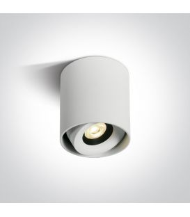 8W LED Griestu lampa White Ø8 Dimmējama 12108X/W/W