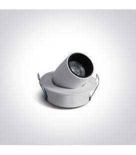 3W LED Įmontuojamas šviestuvas White 11103M/W/W