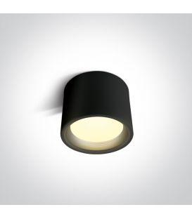 15W LED Griestu lampa Black Ø13 IP40 12115L/B/W