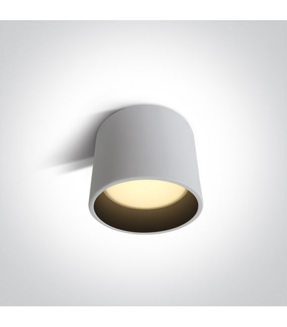 8W LED Lubinis šviestuvas Black Ø10.7 12108FD/B/BS