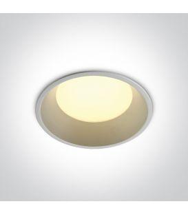 9W LED Iebūvējamā lampa White 3000K 10109D/W/W