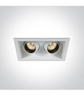 12W LED Iebūvējama lampa White 51206M/W/W