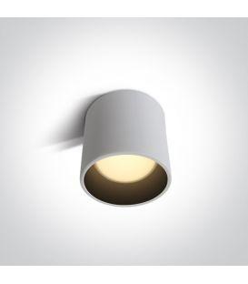 7W LED Griestu lampa White Ø10 12107LD/W/W