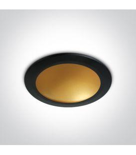 16W LED Iebūvējama lampa Black 10116FD/B/BS