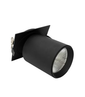 Iebūvējams gaismeklis Lamparas Black NC2156-GU10-