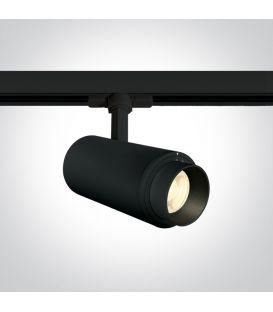30W LED Apgaismojuma prožektoru ONE LIGHT 3F Black 4000K 65650T/B/C