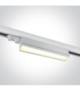 40W LED Apgaismojuma prožektoru ONE LIGHT 3F White 3000K 65026T/W/W