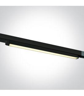 16W LED Apgaismojuma prožektoru ONE LIGHT 3F Black 3000K 65018T/B/W
