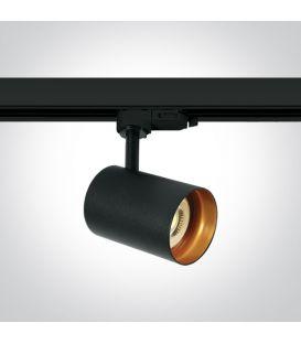 Apgaismojuma prožektoru RETRO 3F Black 65105NT/B
