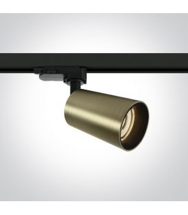 Apgaismojuma prožektoru RETRO 3F Brushed Brass 65105CT/BBS
