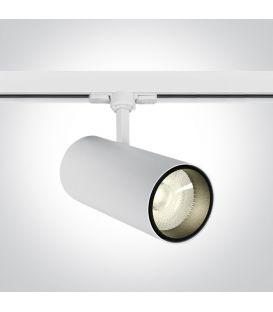 30W LED Apgaismojuma prožektoru ONE LIGHT 3F White 4000K 65642CT/W/C