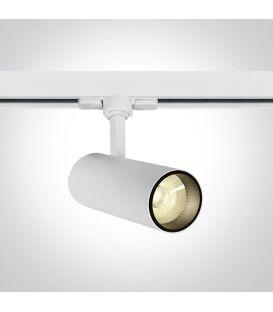 10W LED Apgaismojuma prožektoru ONE LIGHT 3F White 4000K 65642AT/W/C