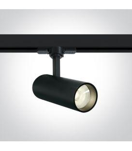 10W LED Apgaismojuma prožektoru ONE LIGHT 3F Black 4000K 65642AT/B/C