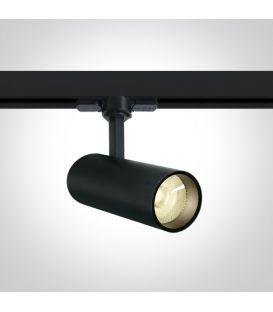 10W LED Apgaismojuma prožektoru ONE LIGHT 3F Black 3000K 65642AT/B/W