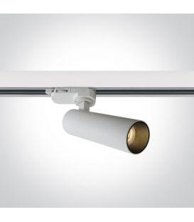 8W LED Apgaismojuma prožektoru ONE LIGHT 3F White 3000K Dimmējama 65108T/W/W