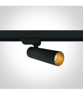 8W LED Apgaismojuma prožektoru ONE LIGHT 3F Black 3000K Dimmējama 65108T/B/W