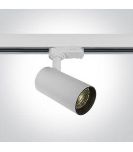 12W LED Apgaismojuma prožektoru ONE LIGHT 3F White 3000K 65524T/W/W