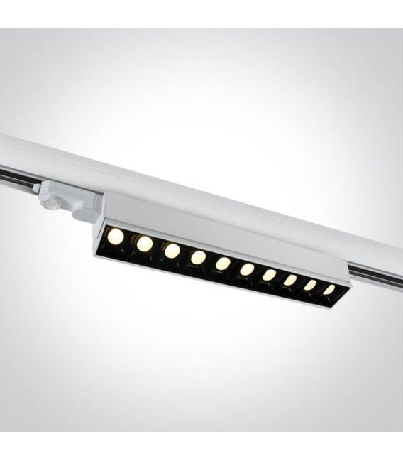 12W LED Šviestuvas bėgeliui ONE LIGHT 3F Black 65524T/B/W