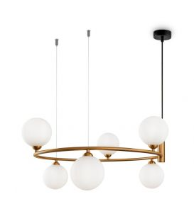 Piekarama lampa RING Brass MOD013PL-06BS