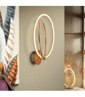 22W LED Sienas lampa OCELLIS Rose gold 814027