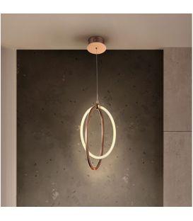 22W LED Piekarama lampa OCELLIS Rose gold 814263