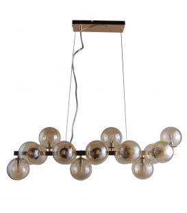 Piekarama lampa MARBELIO Amber PND-6161-16 GO+CO