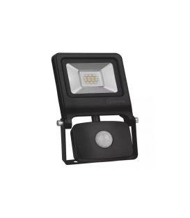 10W Sensorinis LED prožektorius Black IP44 4058075268685