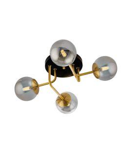 Griestu lampa FIORE Gold 4 4254400